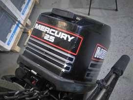Motor fuera de borda  mercury 25HP 2T