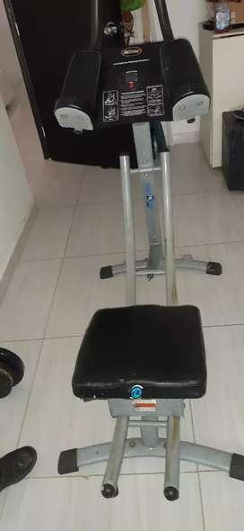 Maquina para el abdominales