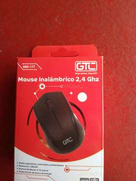 Mouse inalambrico Gtc incluye pila