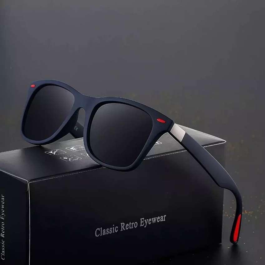 Gafas de sol polarizadas azul oscuro  filtro UV 400 hombre mujer reflejo ilusión Of Time