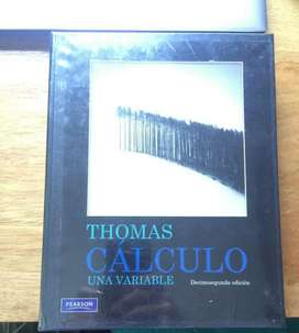 Libro Thomas, Cálculo Una Variable. 12ed
