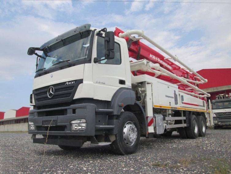 Mercedes Benz Axcor 3340 Putzmeister M 38 0