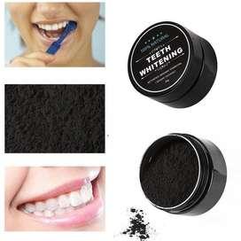 Carbón Activado blanqueamiento dental 100 natural