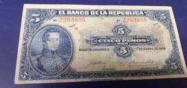 Billete de colección. 1928