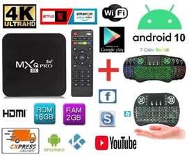 Tv Box Android 10+ Teclado Envio Gratis Pago Contraentrega