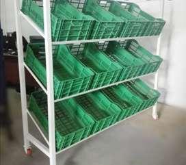 Vendo verdulero 15 canastillas