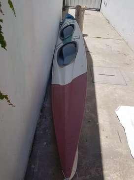 Kayak mapuche doble