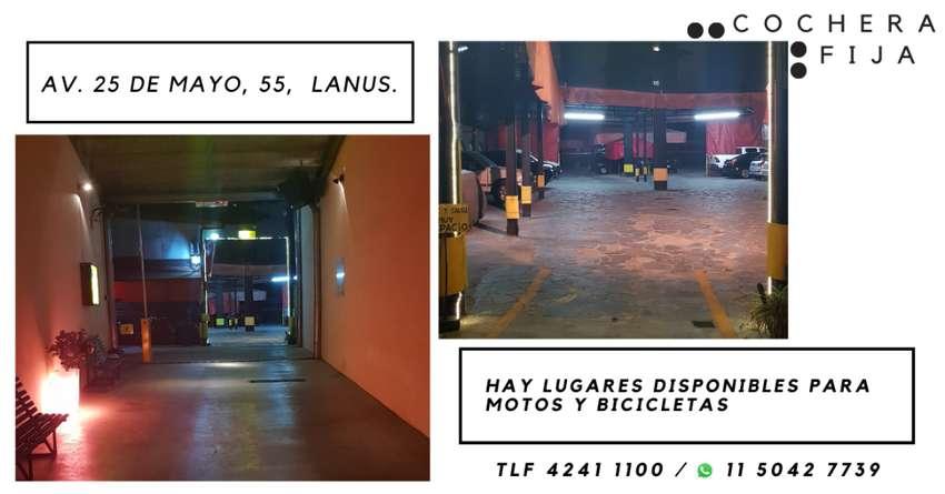 ALQUILER DE ESPACIOS DE ESTACIONAMIENTO FIJO PARA MOTOS Y BICICLETAS 0