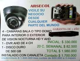ARSECOL: Lo mejor en seguridad y vigilancia para su hogar o su negocio.