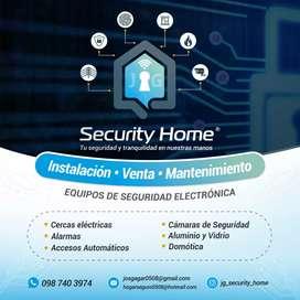 Instalación, venta y mantenimiento de equipos de seguridad electrónica ica