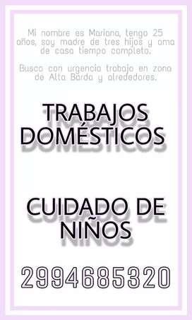 Trabajos Domésticos / Cuidado de niños