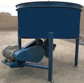 Mezcladora tipo batea para prefabricados de concreto , Moldes