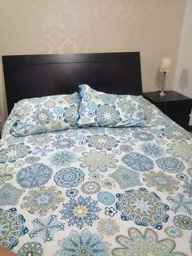 Vendo cama doble usada marca Aristas