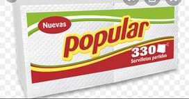 Servilletas Popular 330
