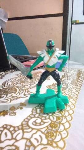 Juguete de Power Ranger Samurai verde