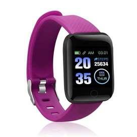 Smart Watch D13 redes sociales, tensiometro, podometro bluetooth whastapp, smartwatch reloj inteligente ejercicio
