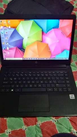 Laptop hp intel core i3 10 generación en excelente estado