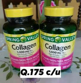Vitaminas Colageno 1,000mg por Softgel
