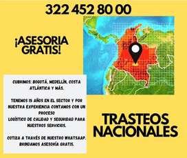 TRASTEOS NACIONALES MEDELLIN CUCUTA