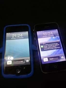 Telefono iphone , Samsung y un ipod (todos)