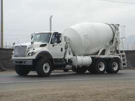 Alquilo camion mixer de 8m3