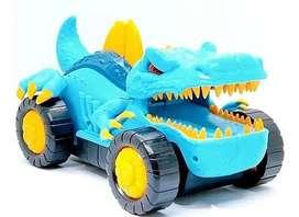 Carro Spinosaurus Con Luces / Sonido Y Movimiento Para Niños