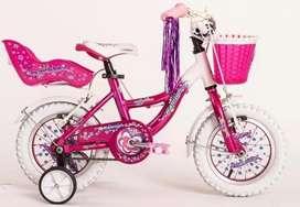 Bicicleta de nena