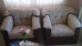 Vendo sillones de uno y dos cuerpo