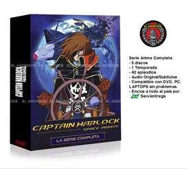 Capitan Harlock Serie Anime Completa