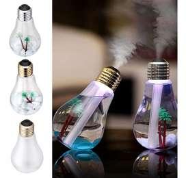 Humificador De Bombillo Difusor De Aromas Aromatizador Usb Eléctrico