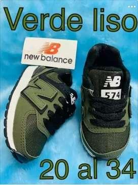 Zapatillas New balance originales talle 24