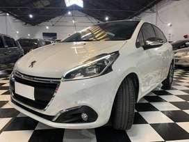 Peugeot 208 1.6 Feline Tiptronic 2018 Blanco