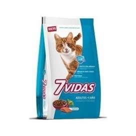 7 vidas gato x 10kg