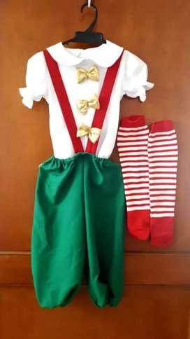 Disfraz duende niño/niña