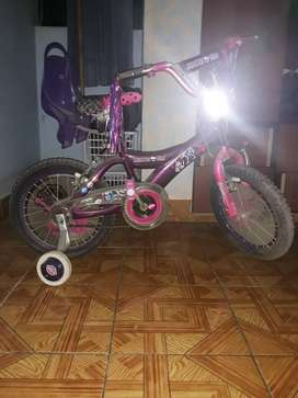Bicicleta monsterhigh