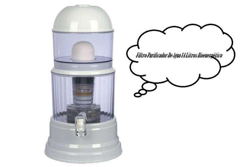 Filtro Purificador De Agua 14 Litros Bioenergético