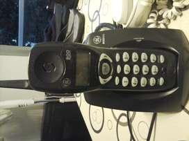 Telefono Inalambrico Negro General Electric 900mhz para reparar USADO