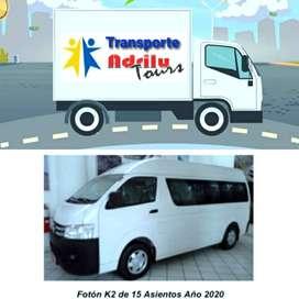 Se realizaTrasporte de personal y Mudanzas o recojos de cualquier productos.