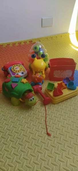 Juguetes para niños Fisher Price