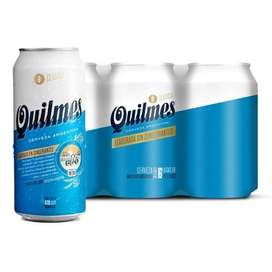 Quilmes 473ml pack x 6
