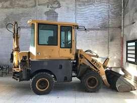 Pala Y Retro Excavadora ZMG WZ180 modelo 2011 OPORTUNIDAD