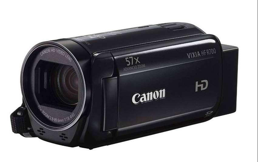 Video Camara Canon Vixia Hfr700, Full Hd 0