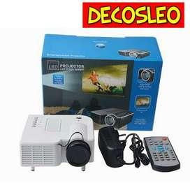 Proyector Uc 30 Nuevos ! mini proyector uc30 150 lumens