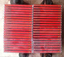 Rock Nacional Colección de Oro (Completa) Revista Noticias (Roja) 40 CDs
