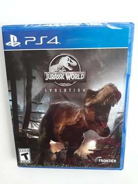 Jurassic World Evolution Juego Ps4 Nuevo Y Sellado
