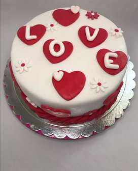 Tortas para San Valentín