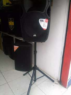 Cabina + trípode + Mic. Pro Audio