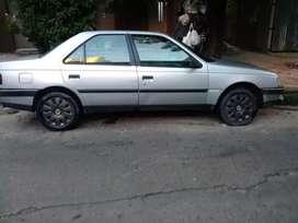 Vendo 405 impecable vtv seguro 140 mil o Permuto por auto a gas