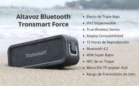 Parlante Tronsmart force 40w bluetooth speaker altavoz