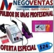 PULIDOR DE UÑAS PROFESIONAL EN DESCUENTO EXCLUSIVO DE NEGOVENTAS